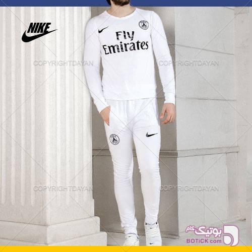 ست تیشرت و شلوار ورزشی Nike مدل Paris سفید ست ورزشی مردانه