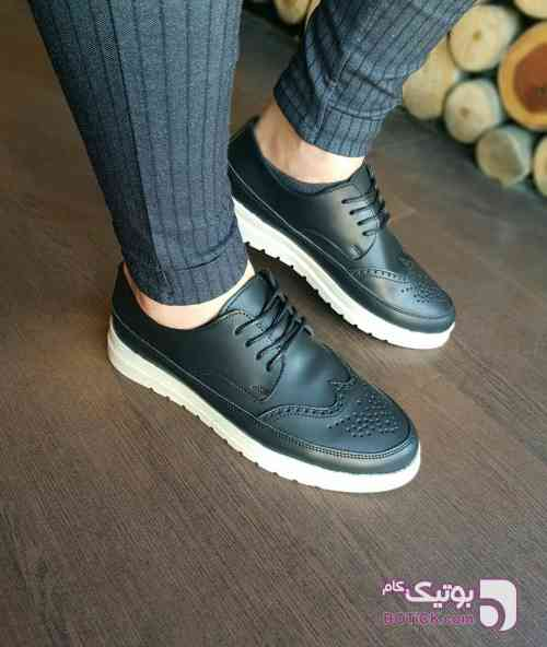 کفش کتونی کرم كتانی زنانه