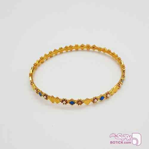 دستبند زنانه با آبکاری طلایی زرد دستبند و پابند