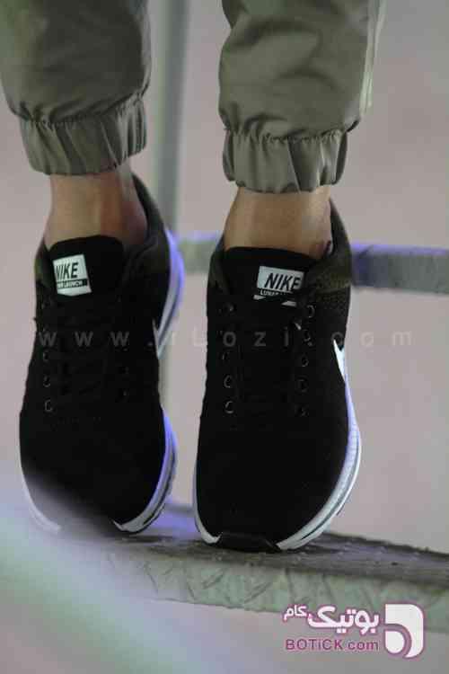 کفش کتانی مردانه نایک مدل 1398 مشکی كتانی مردانه