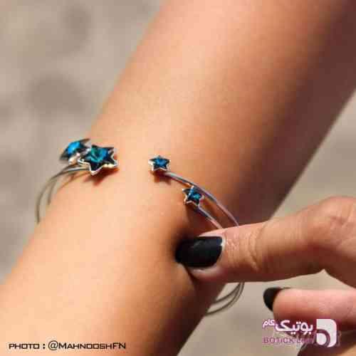 دستبند ستاره ای طلایی دستبند و پابند