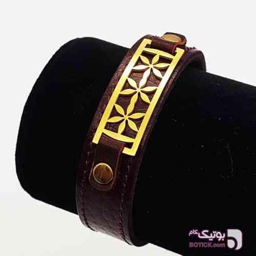 دستبند مردانه چرم-ارسال رایگان زرد دستبند و پابند