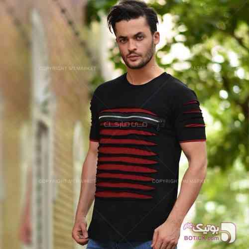 تيشرت مردانه مدل RAPA  مشکی تی شرت مردانه