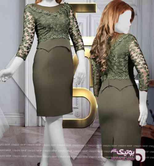 فرزان سبز لباس  مجلسی