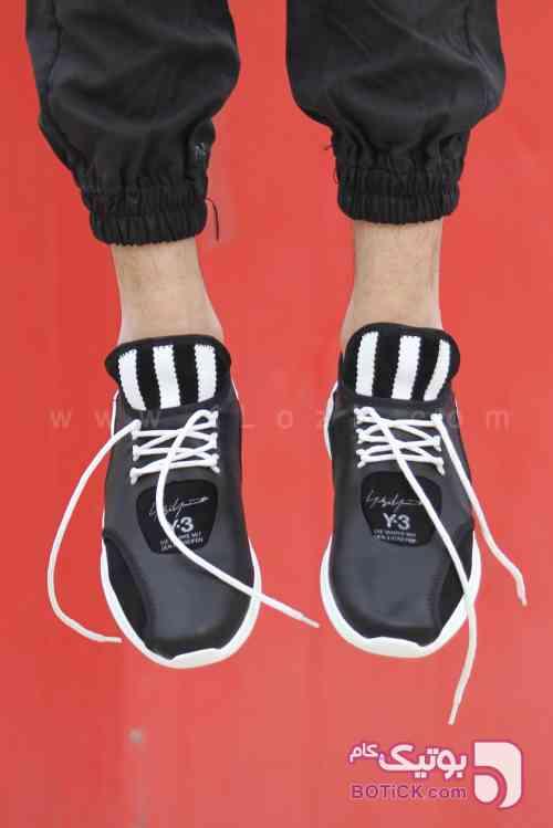کفش کتانی مردانه مدل Y-3 مشکی كتانی مردانه
