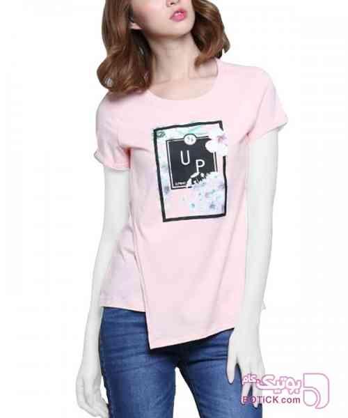 تی شرت زنانه جین وست سفید تی شرت زنانه