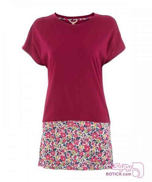 تی شرت زنانه جوتی جینز قرمز تی شرت زنانه