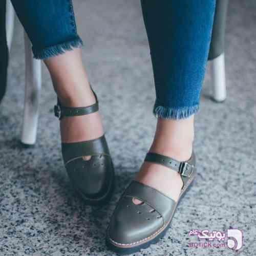 کفش زنانه نقره ای كفش زنانه