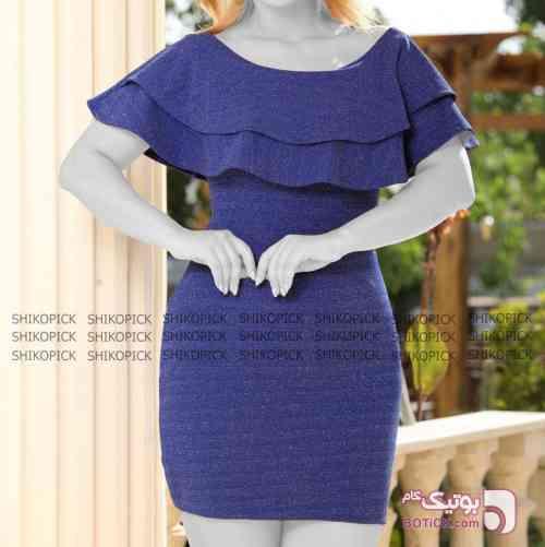 فروزان آبی لباس  مجلسی