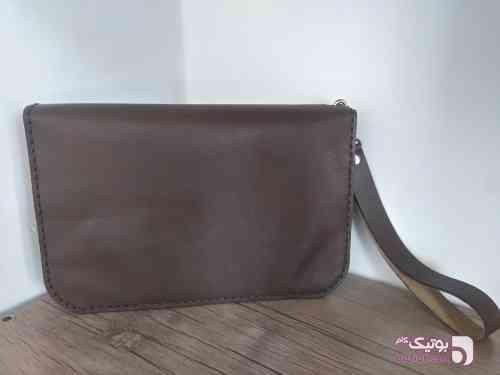 کیف مدارک مردانه  مشکی كيف مردانه