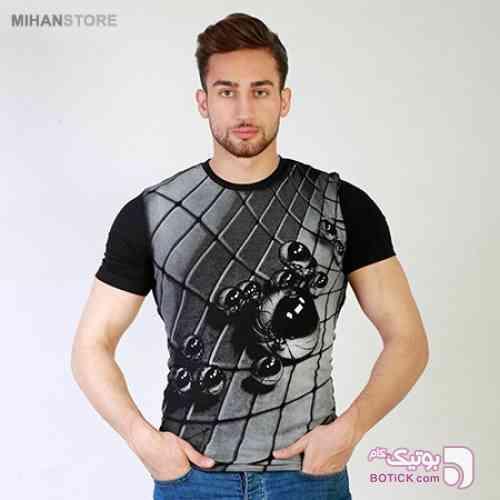 تی شرت سه بعدی Marbles مشکی تی شرت مردانه