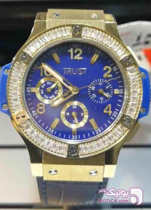 ساعت تراست آبی ساعت