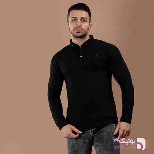 تیشرت ساده  مشکی مشکی تی شرت مردانه