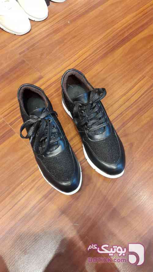 کفش زنانه طرح BLACK SHINE طوسی كفش زنانه
