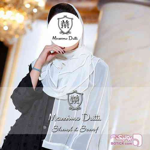 شال حریر مجلسی VIP ماسیمودوتی زرد شال و روسری