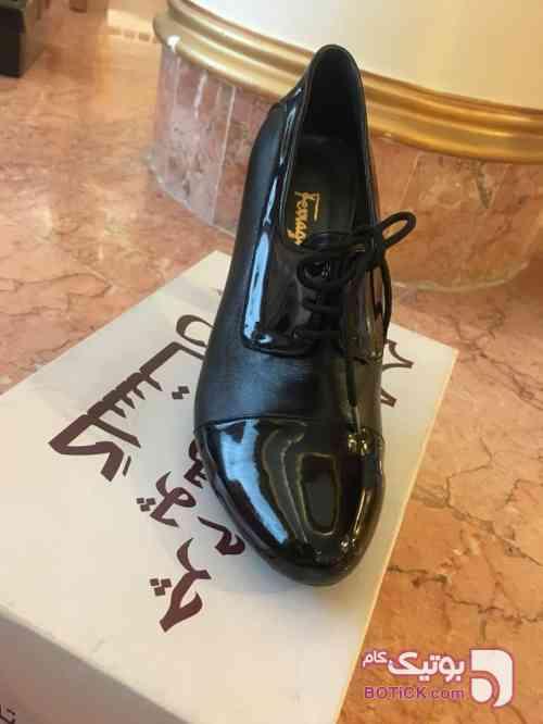 کفش چرم زنانه سایز 39 مشکی كفش زنانه