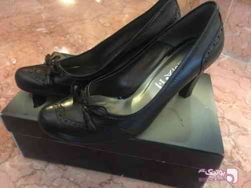 کفش prima چرم زنانه سایز 39 مشکی كفش زنانه