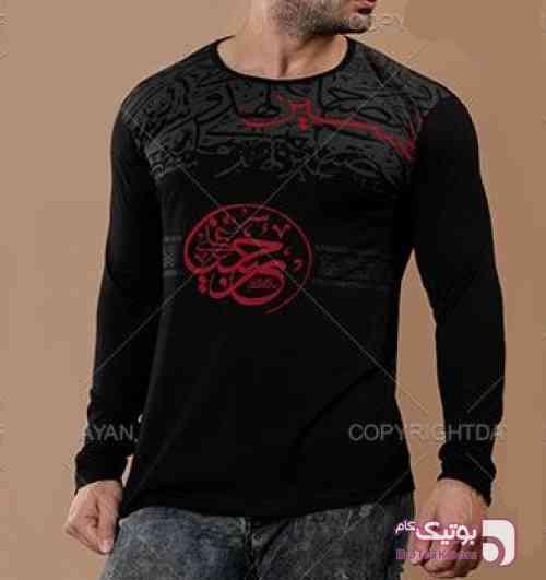 تیشرت محرم طرح( باز این چه شورش است) مشکی تی شرت مردانه
