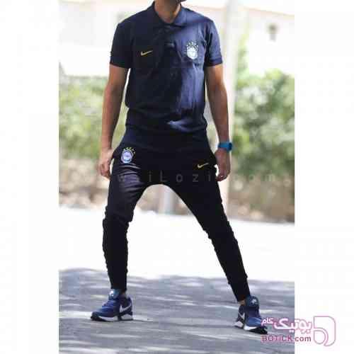 ست تی شرت و شلوار مردانه نایک مدل 514 مشکی ست ورزشی مردانه