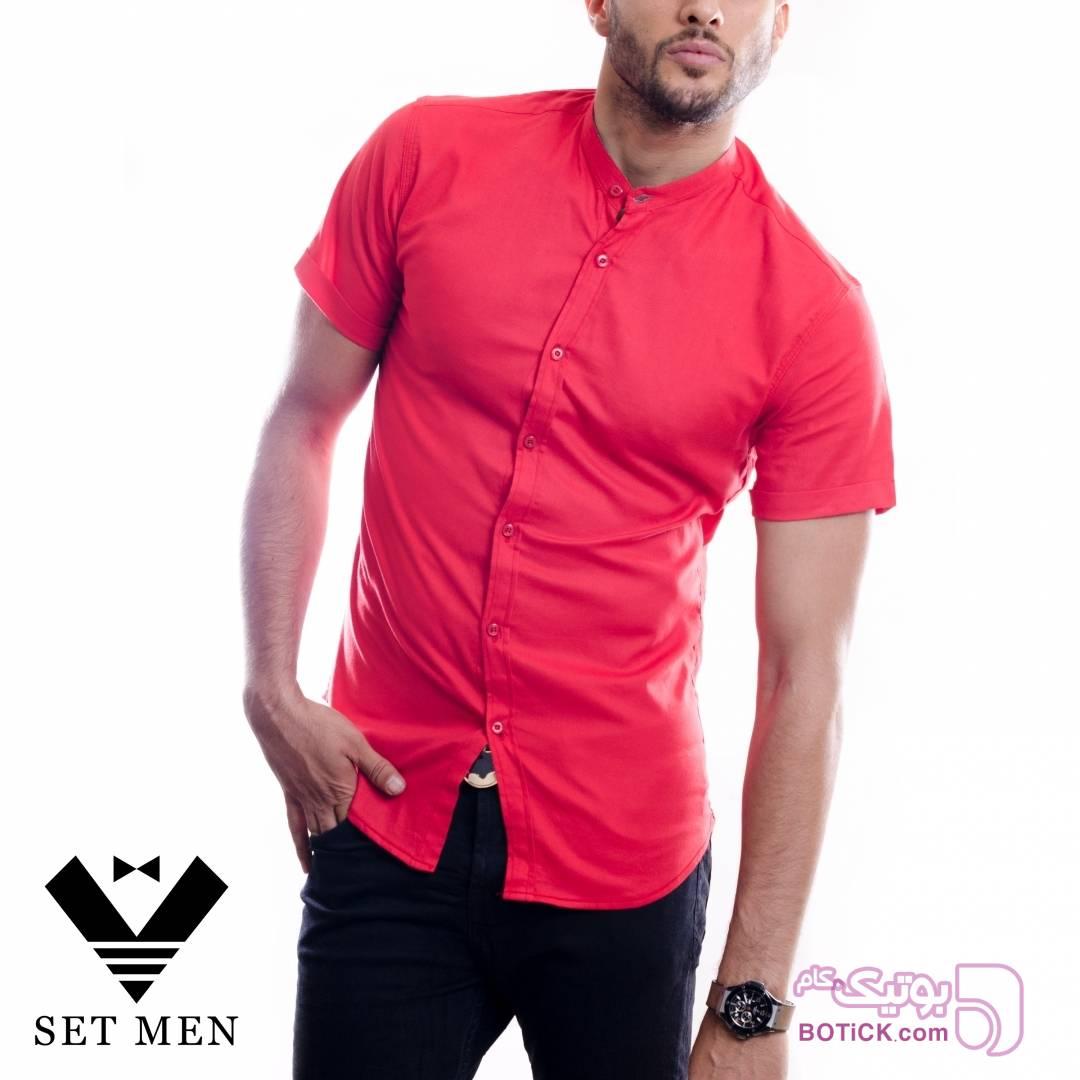 پیراهن قرمز پيراهن مردانه