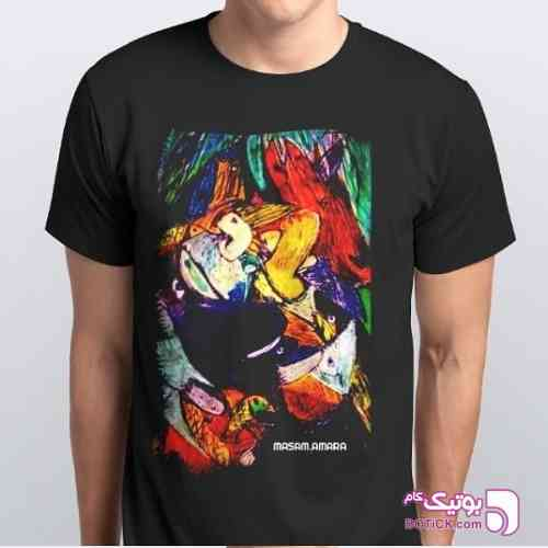 MASAM.AMARA مشکی تی شرت مردانه