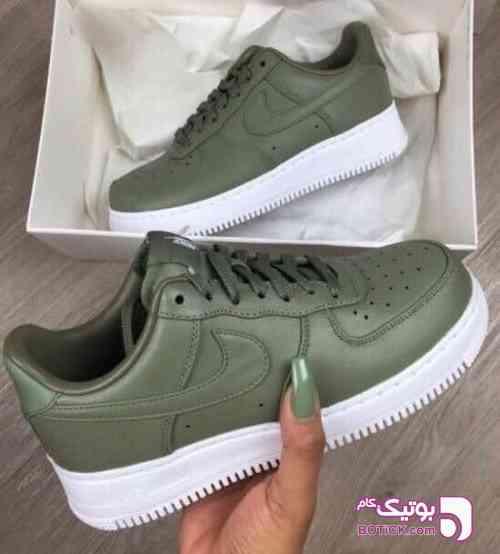Nike - Airforce سبز كتانی زنانه