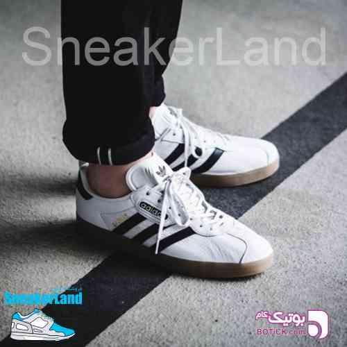 Adidas Gazelle Super سفید كتانی مردانه