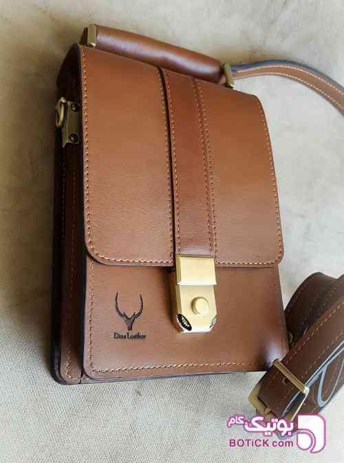 کیف دوشی مردانه مشکی كيف مردانه