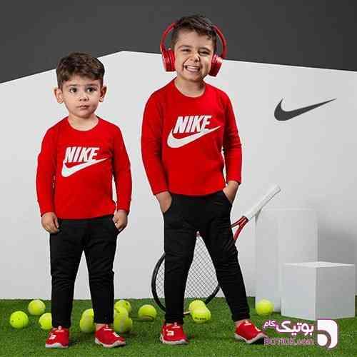 تیشرت  و شلوار بچگانه Nike - لباس کودک پسرانه