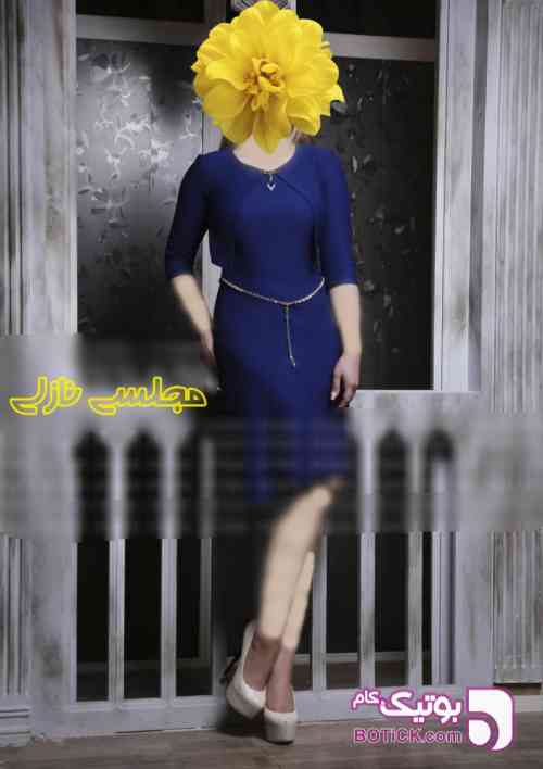 سارافون کلوش نیوشا مشکی لباس  مجلسی