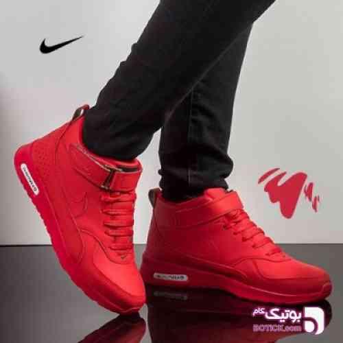 کتانی ساقدار زنانه Nike مدل Fortino(قرمز) قرمز کفش ورزشی