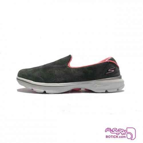 کفش مخصوص پیاده روی اسکچرز مدل GO WALK 3 طوسی کفش ورزشی