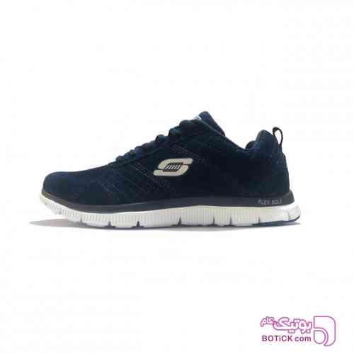 کفش مخصوص پیاده روی اسکچرز مدل SkechKnit سورمه ای کفش ورزشی