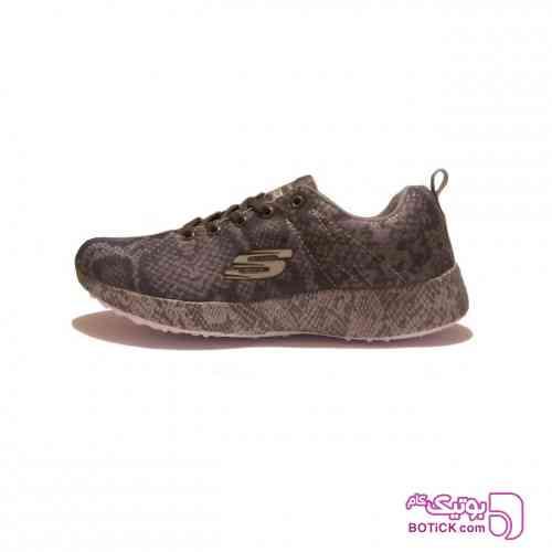کفش مخصوص پیاده روی اسکچرز مدل TRAINING قهوه ای کفش ورزشی
