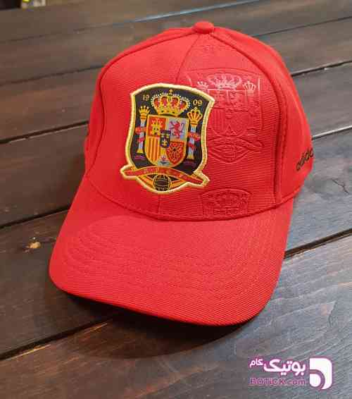 کلاع ورزشی قرمز زرد کلاه