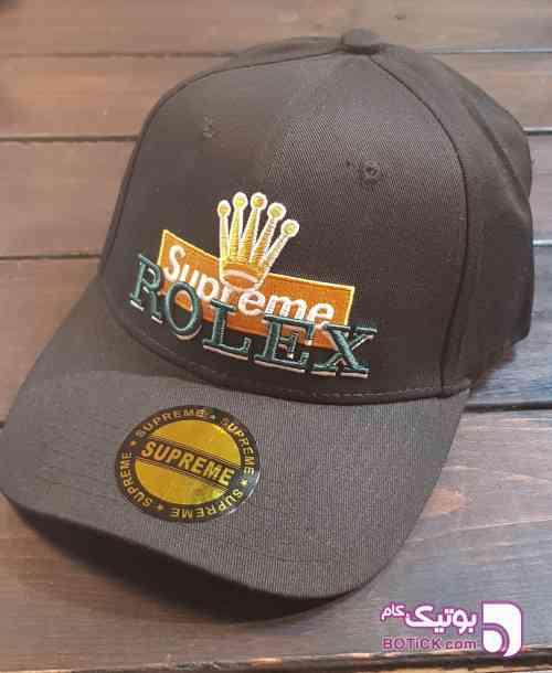 کلاه نقاب خم رولکس زرشکی کلاه