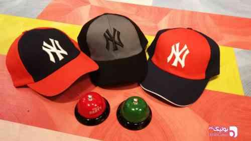کلاه نقاب دار NY طوسی کلاه