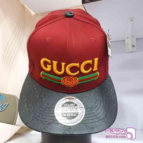 کلاه کپ Gucci آبی 97 2018