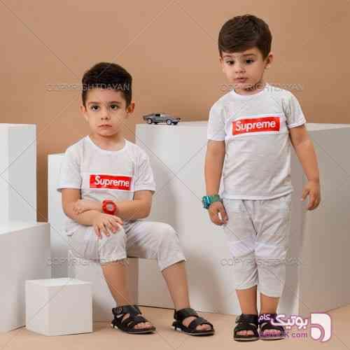 ست تیشرت و شلوارک بچگانه Supreme Vichi - لباس کودک پسرانه