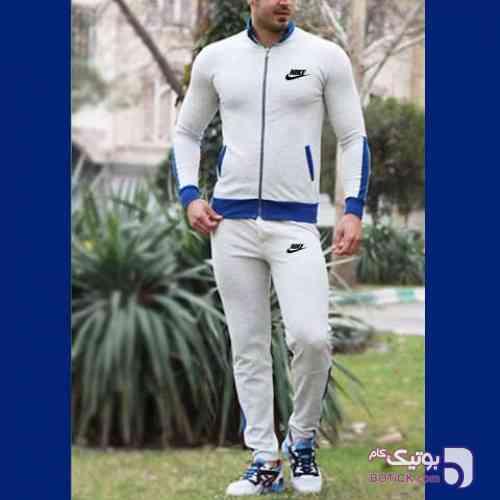 ست سویشرت و شلوار NIKE مدل Lucas  طوسی ست ورزشی مردانه