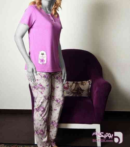 ست بلوز شلوار زنانه جوانا JOANNA  فیروزه ای لباس راحتی زنانه