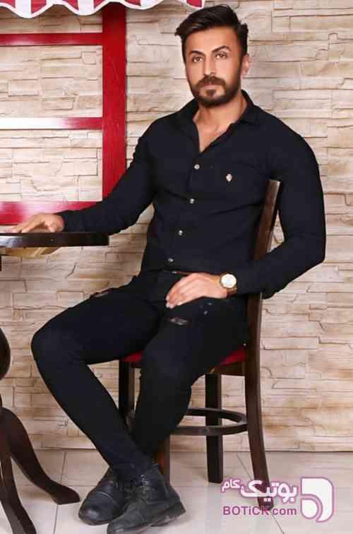 پیراهن مشکی  مردانه مخصوص محرم - پيراهن مردانه