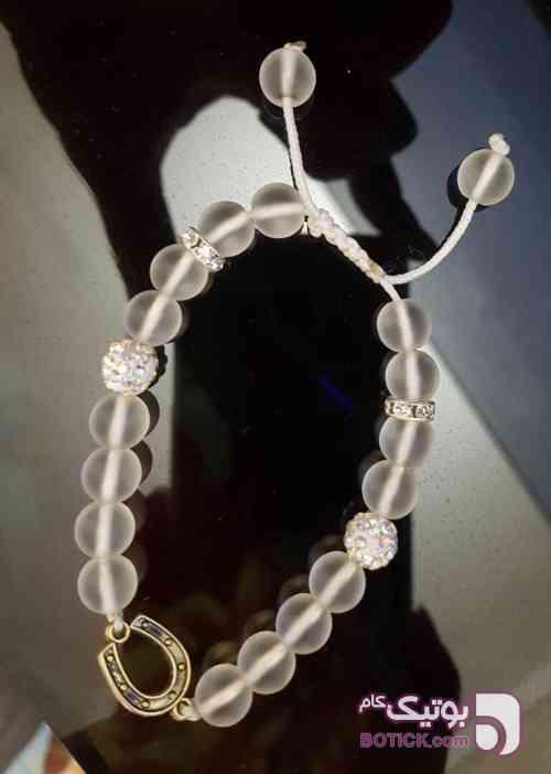 دستبند نعل اسب سفید دستبند و پابند
