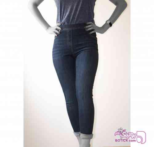 شلوار جین بست ترند ترکیه کد 149 آبی شلوار زنانه