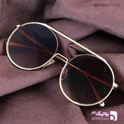 خرید عینک آفتابی زنانه دیور ضد خش زرد عینک آفتابی