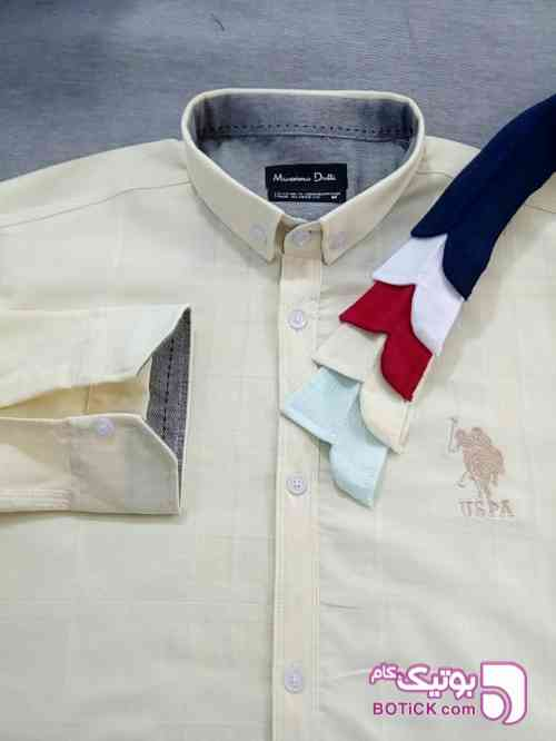 پیراهن مردانه اسپرت اندامی - پيراهن مردانه
