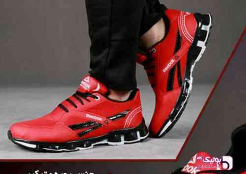 #کفش مردانه Reebok قرمز كتانی مردانه