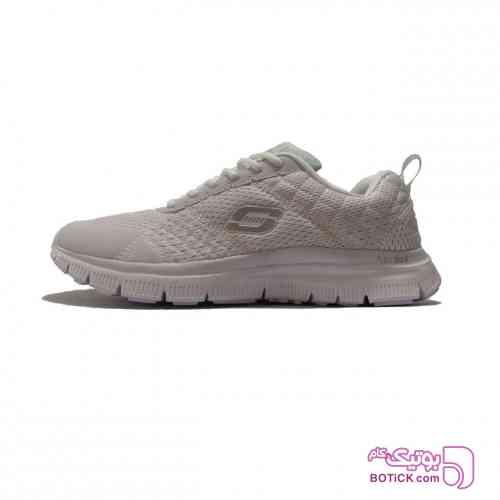 کفش مخصوص پیاده روی اسکچرز مدل SkechKnit سفید کفش ورزشی