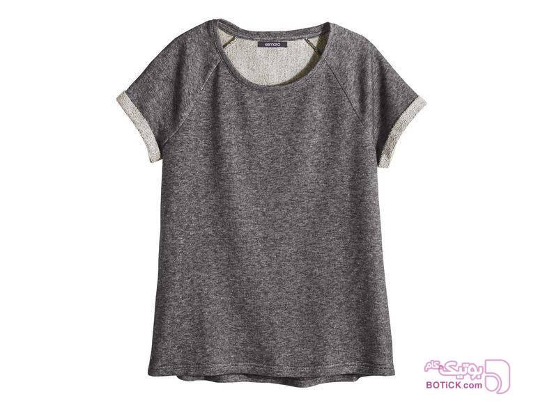 تیشرت  طوسی تی شرت زنانه