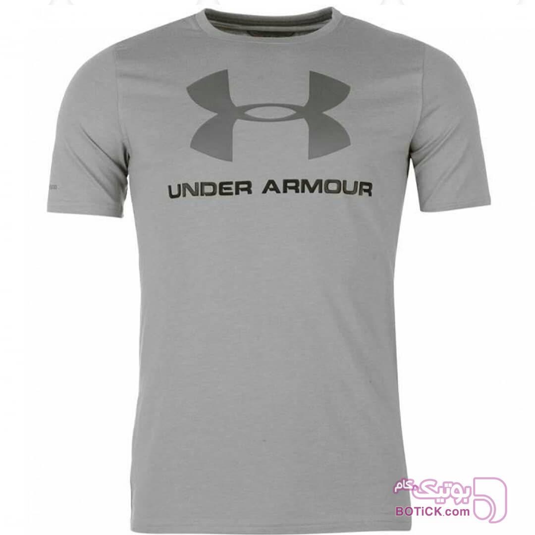تیشرت استرج آندرارمور سورمه ای تی شرت مردانه